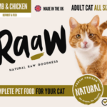 RaaW Lamb & Chicken Cat Food