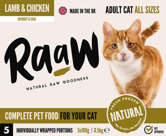 RaaW Lamb & Chicken Cat Food