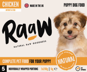 RaaW Chicken Puppy Food